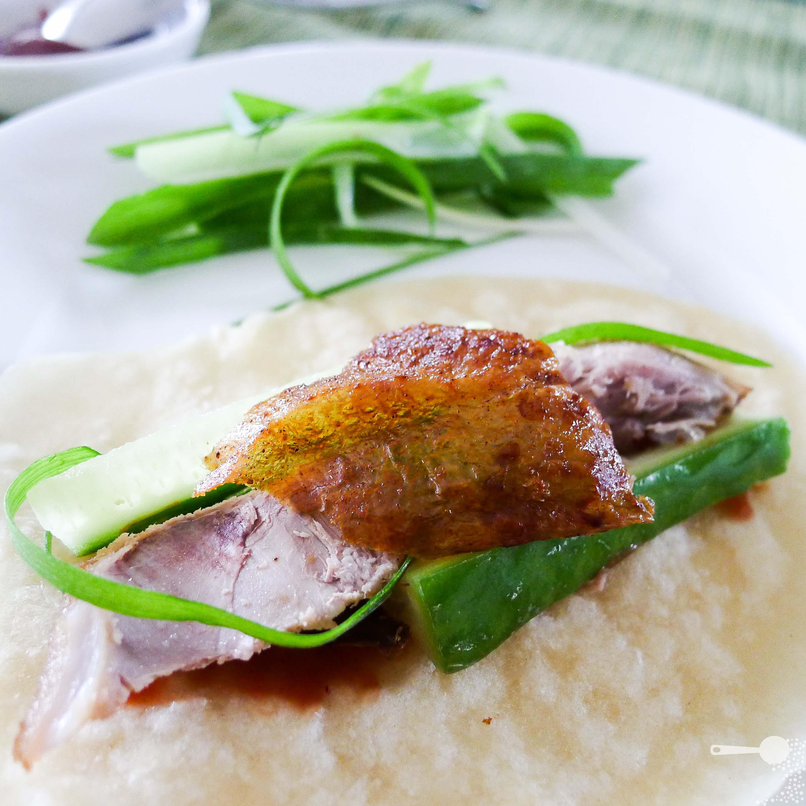 Everything under the SUNHomemade Peking duck with mandarin pancakes