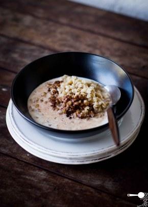Pearl Barley (+ Cacao)Porridge